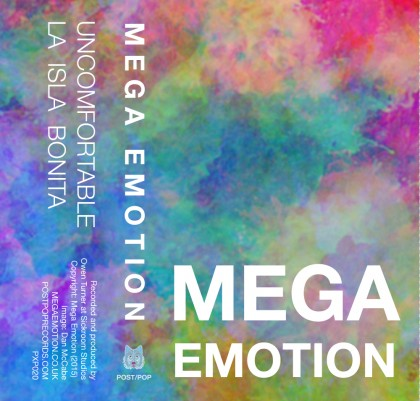 Mega Emotion Uncomfortable - music cassette